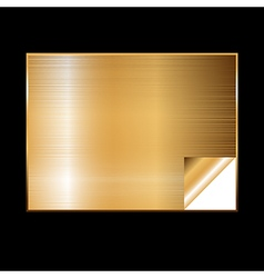 golden gradient background vector image