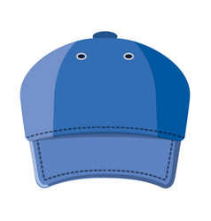 Isolated object of headgear and cap sign vector