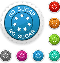 No sugar award vector