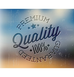 Retro premium quality detailed stamp vector