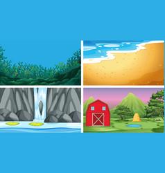 Set different background vector