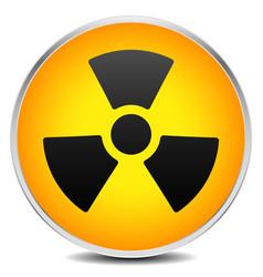 Simple radiation radioactivity sign eps 10 vector