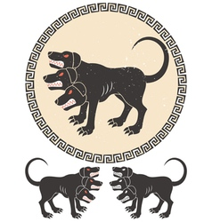 Cerberus Stylized vector image vector image