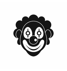 Clown icon simple style vector image vector image