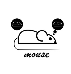 Manual of laboratory mouse vector image vector image