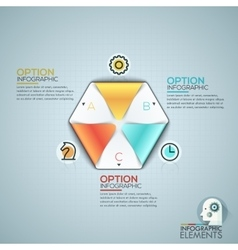 Colorful Infographic Design Template With vector image