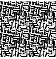 seamless repeating textile ink brush strokes vector image vector image