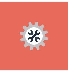 Service flat icon vector image