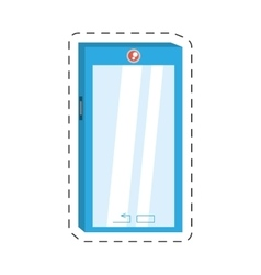 Smart phone device technology mobile vector
