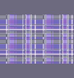 tartan pattern scottish traditional fabric vector image