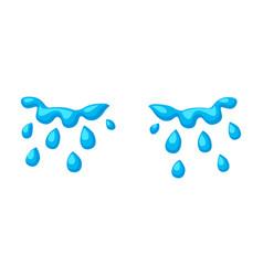 Tears iconcartoon icon isolated vector