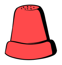 thimble icon icon cartoon vector image