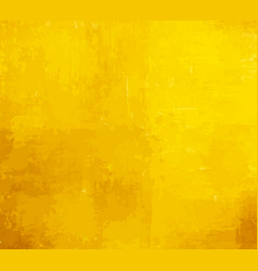 Yellow grunge paint background vector
