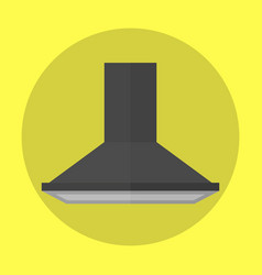 air exhauster kitchen fan modern appliance vector image