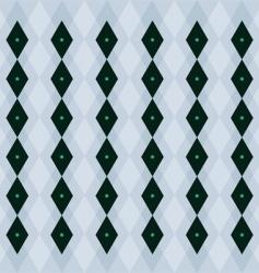 emerald pattern vector image vector image