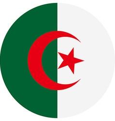 Flag of Algeria vector image