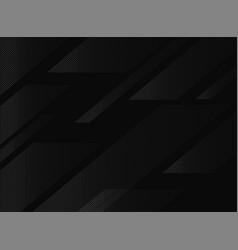 Black abstract geometric modern background modern vector