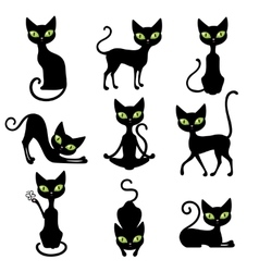 Cats Icon Set vector