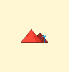 giza icon flat element of vector image