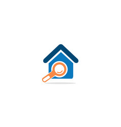 home realty search logo vector image