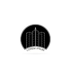 House logo design template vector
