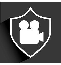 media palyer icon vector image