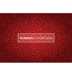 red number background vector image