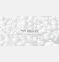 white abstract background vector image