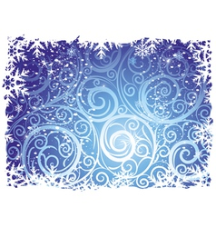 Winter backgrounds vector