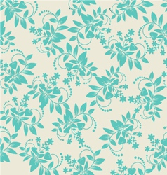 Flora-pattern-vintage-1 vector