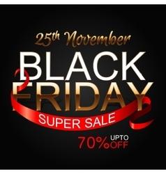 Black Friday 2 vector image vector image