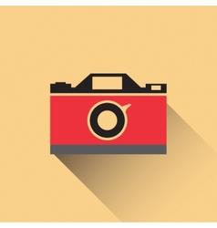 photo camera icon vector image vector image