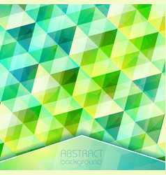 abstract crystal grid background vector image