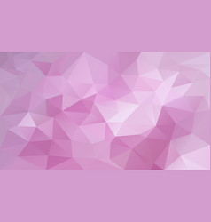 Abstract irregular polygon background pink vector