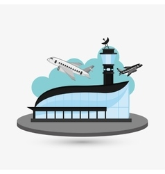 airport design editable vector image