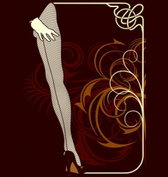 cabaret vector image
