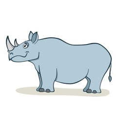 Cartoon Rhino vector