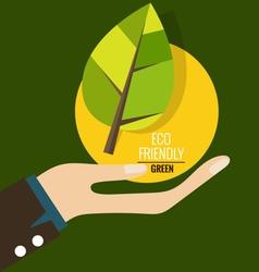ECO FRIENDLY Ecology concept vector