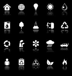 Environmental icons vector