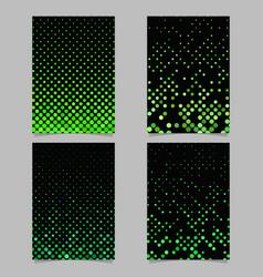 Geometric circle pattern background brochure vector
