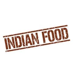 Indian food stamp vector