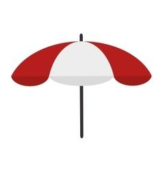 Parasol beach summer vector