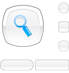 Searching white button vector