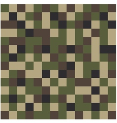Square camouflage pattern background vector