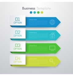 Stock business infographics vector image