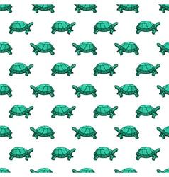 Turtles pattern vector