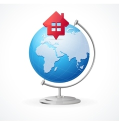 Concept Globe vector image vector image