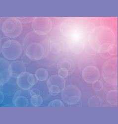 bokeh texture on a two-tone blue-purple background vector image