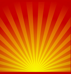 abstract sunrise vector image