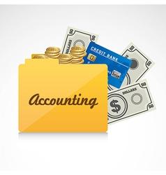 Accounting symbol vector